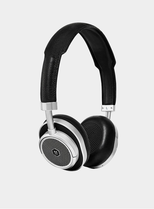 Silver Metal / Black MW50 Wireless Headphones