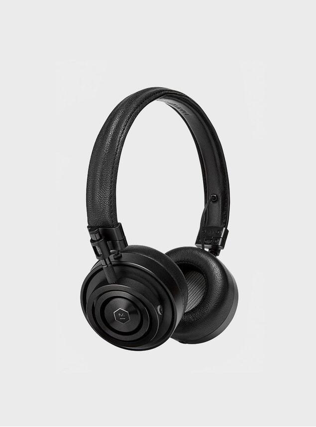 All Black MH30 Headphones