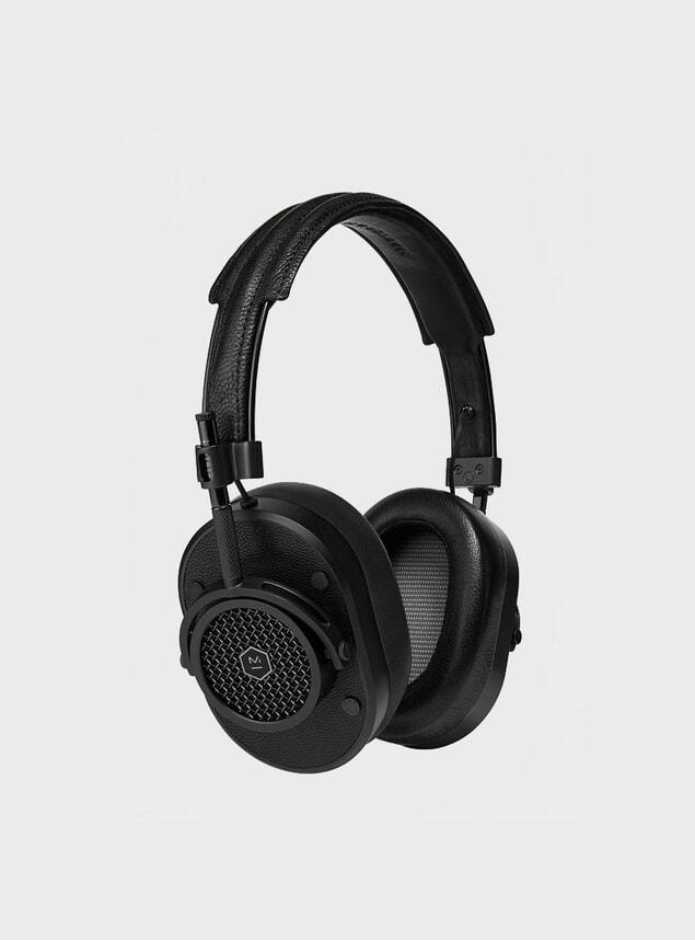 All Black MH40 Headphones