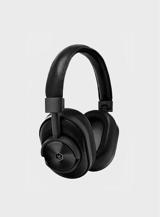 All Black MW60 Wireless Headphones