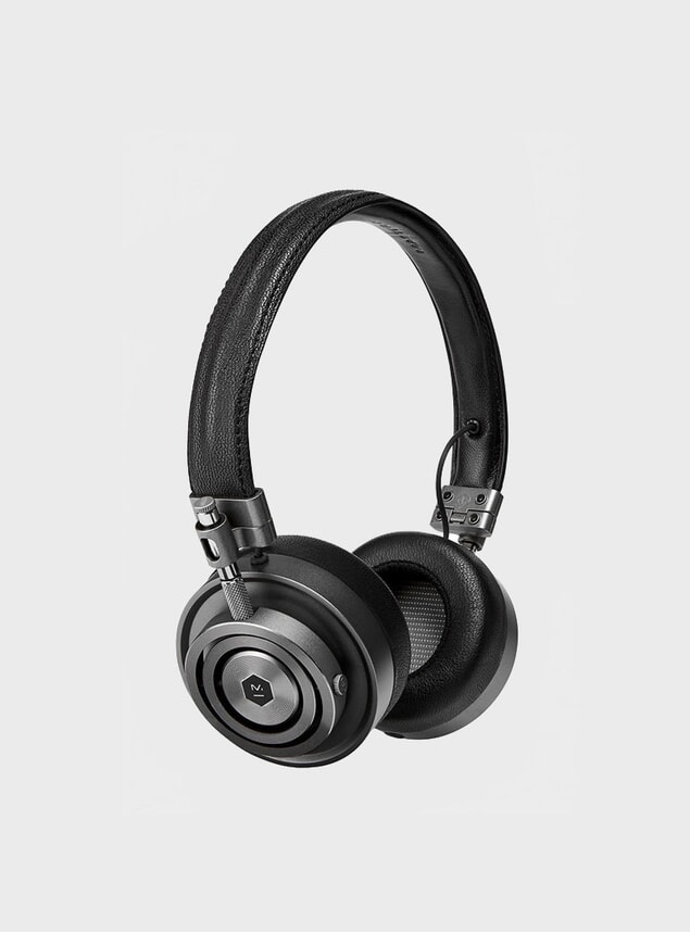 Gunmetal / Black Alcantara MH30 Headphones