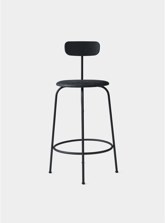 Black Afteroom Counter Chair