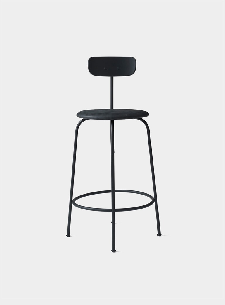 Excellent Black Afteroom Counter Chair Creativecarmelina Interior Chair Design Creativecarmelinacom