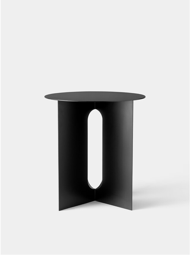 Black Androgyne Side Table