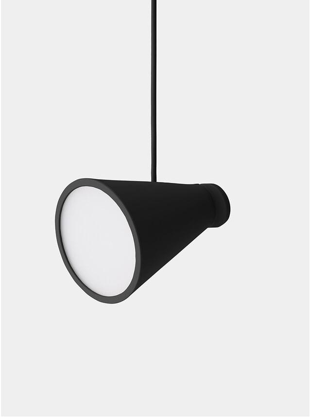 Black Bollard Lamp