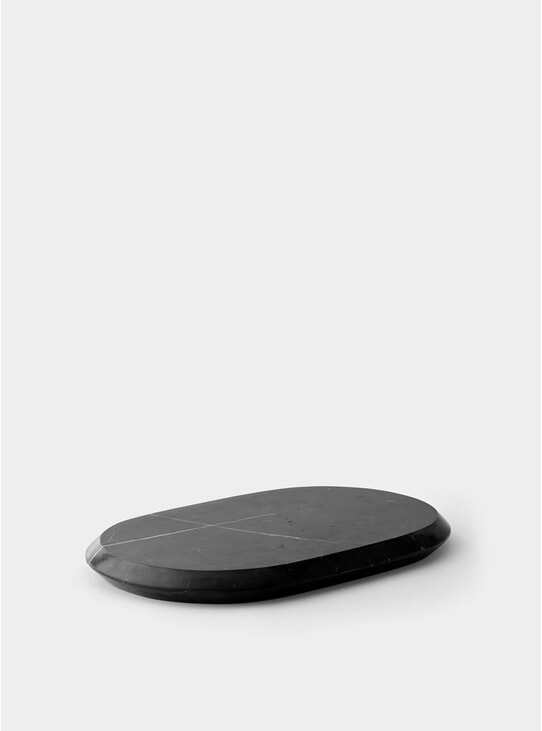 Black Chamfer Serving Board