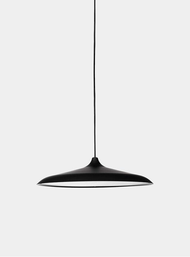 Black Circular Pendant Lamp