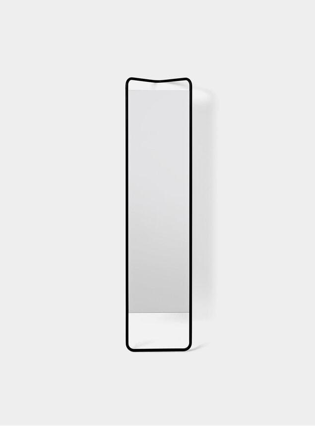 Black Kaschkasch Floor Mirror