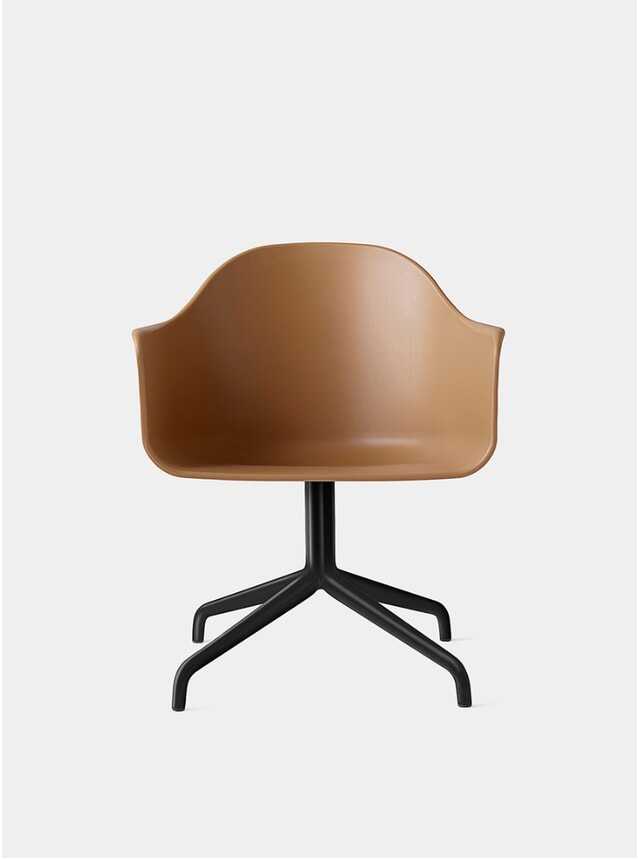 Black / Khaki Harbour Swivel Chair