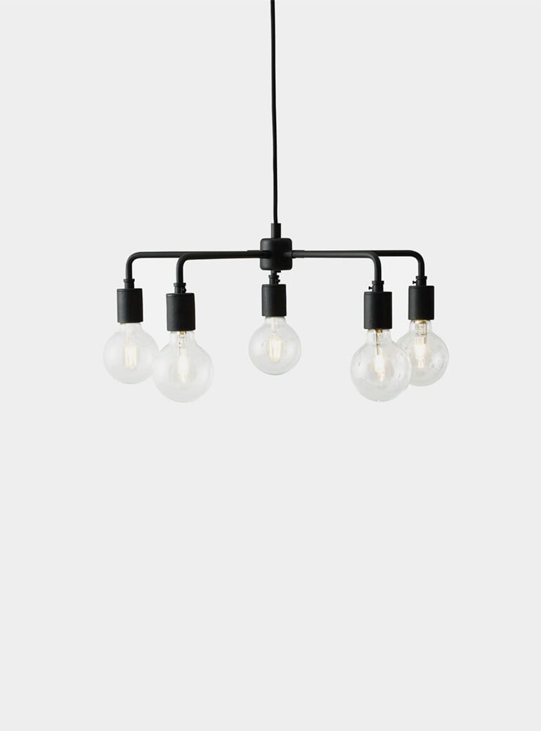 Leonard Chandelier Black Menu