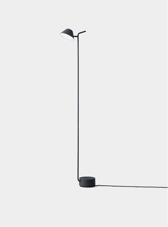 Black Peek Floor Lamp
