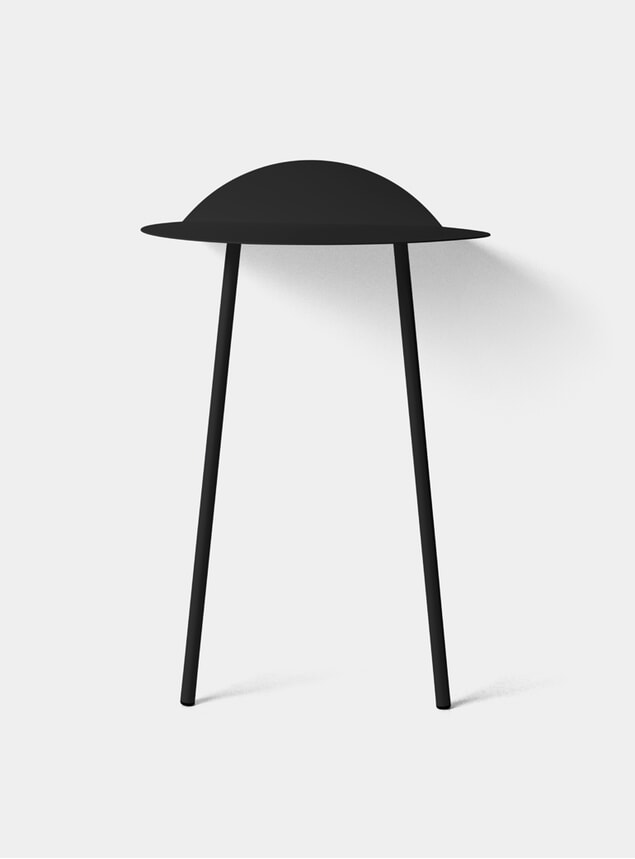 Black Tall Yeh Wall Table
