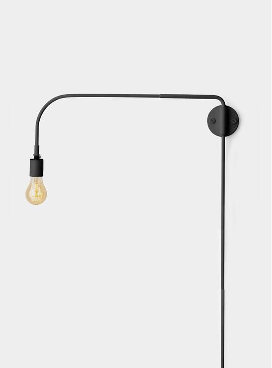 Black Warren Wall Lamp