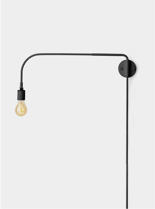 Black Warren Wall Lamp