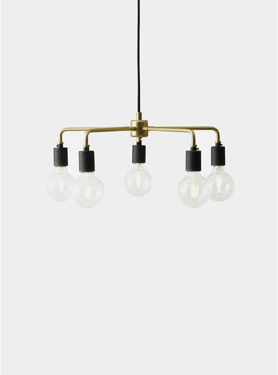 Brass Leonard Chandelier Tribeca