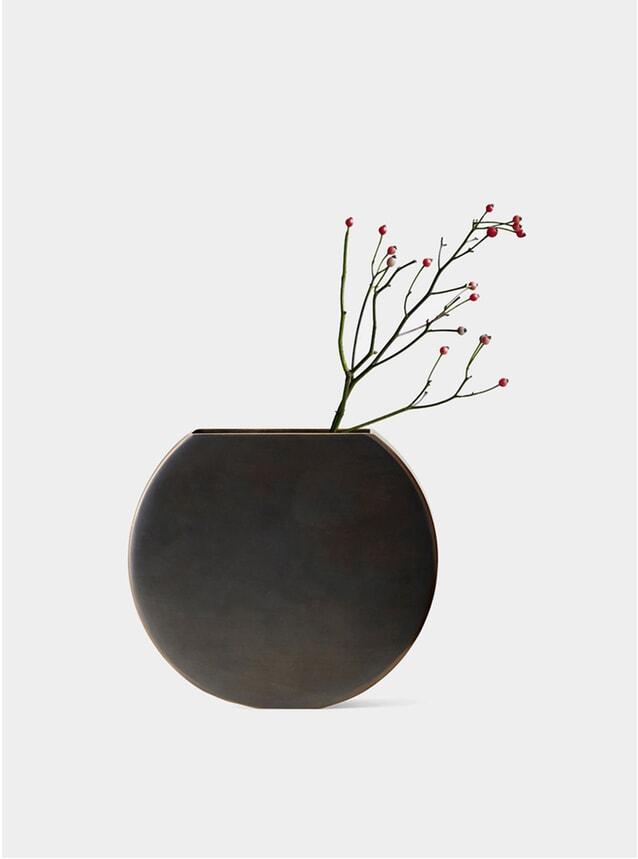 Brass Moon Vase
