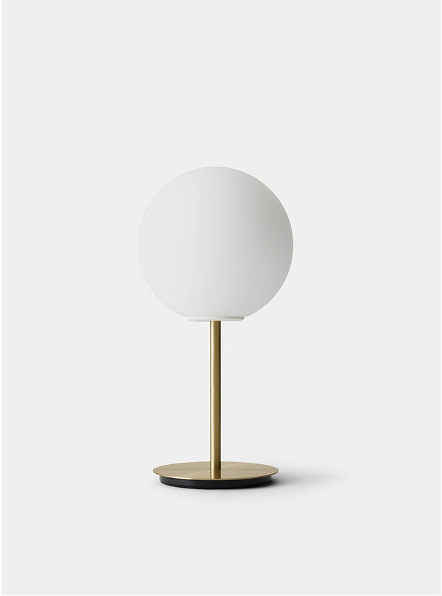 Brushed Brass / Opal TR Table Lamp
