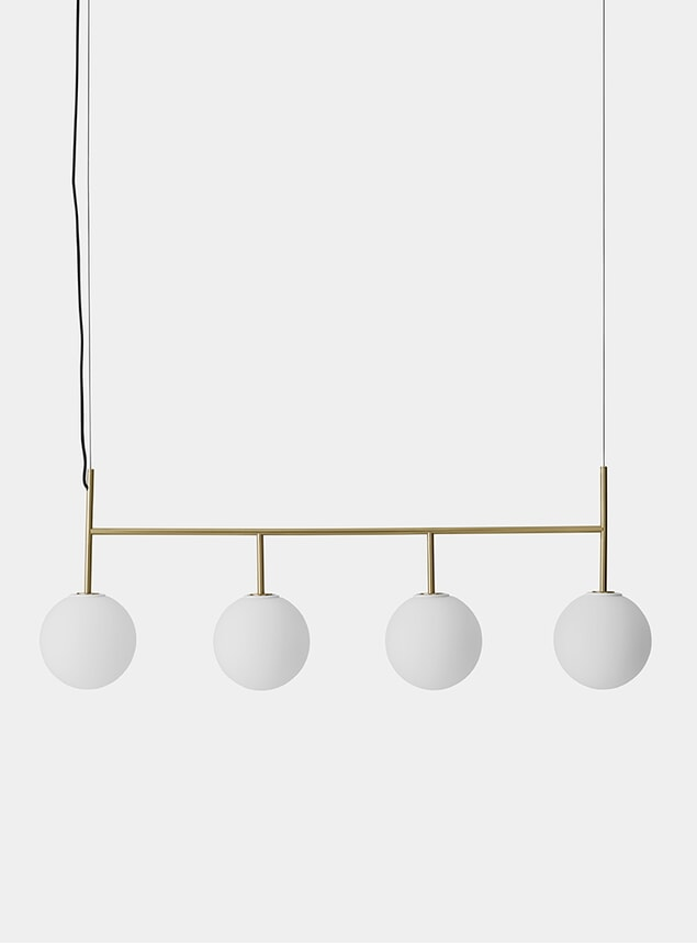 Brushed Brass Suspension Frame
