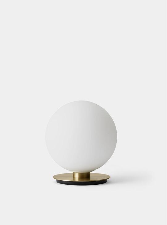 Brushed / Brass Table Matt Opal TR Table Wall Lamp