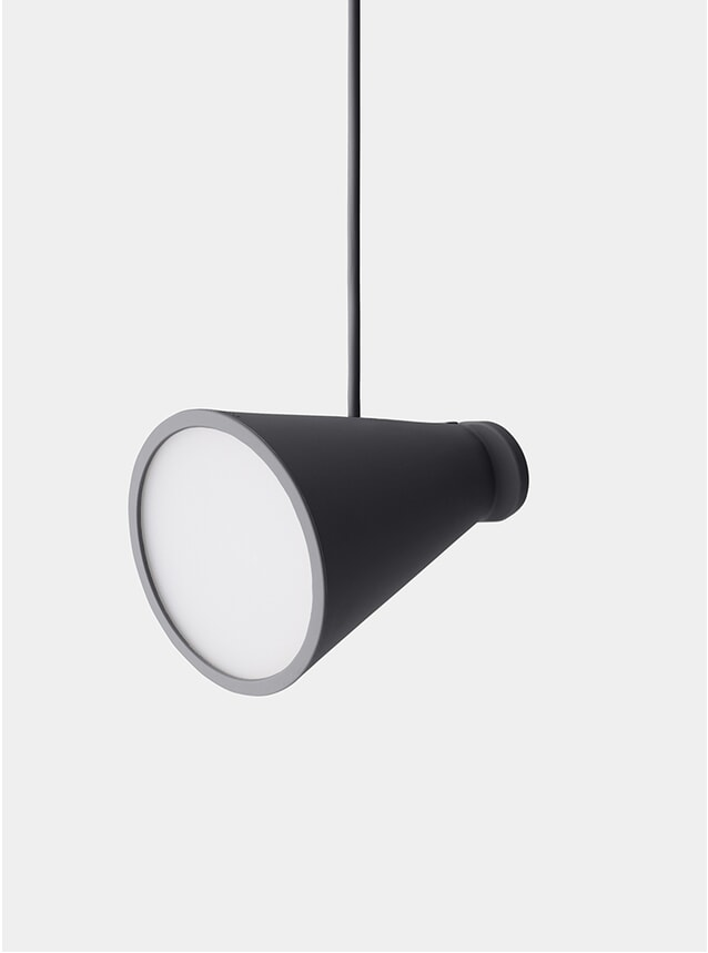 Carbon Bollard Lamp