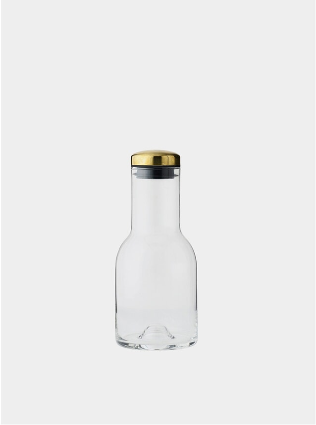 Clear / Brass 0.5L Carafe