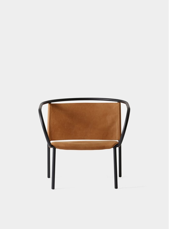 Cognac Afteroom Lounge Chair