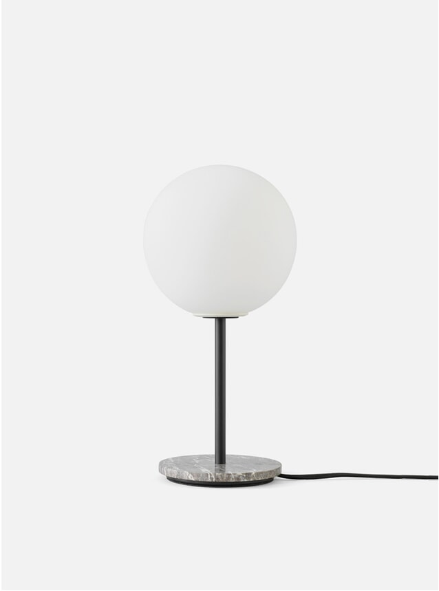 Grey Marble TR Bulb Table Lamp