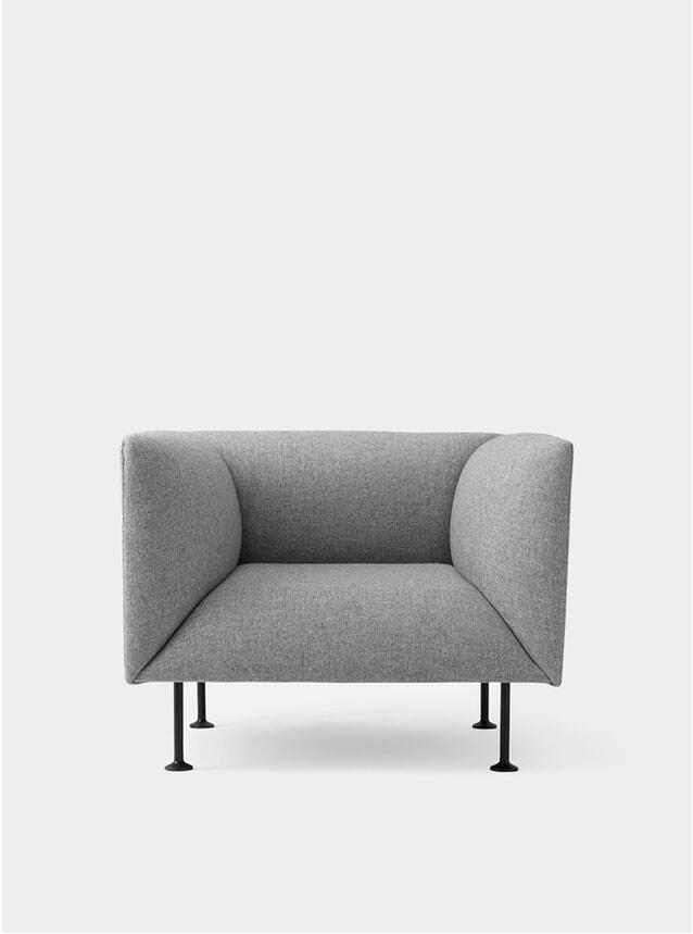 Grey Melange Godot Armchair