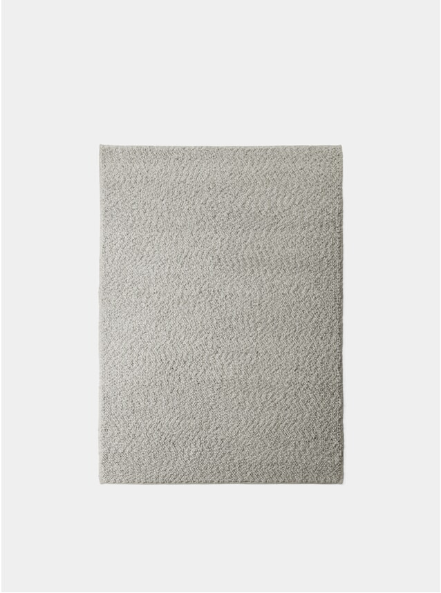 Grey Small Gravel Rug