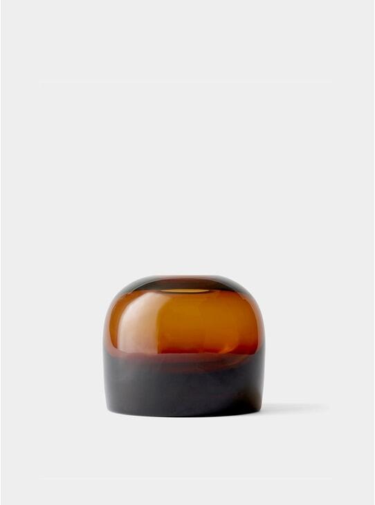 Medium Amber Troll Vase