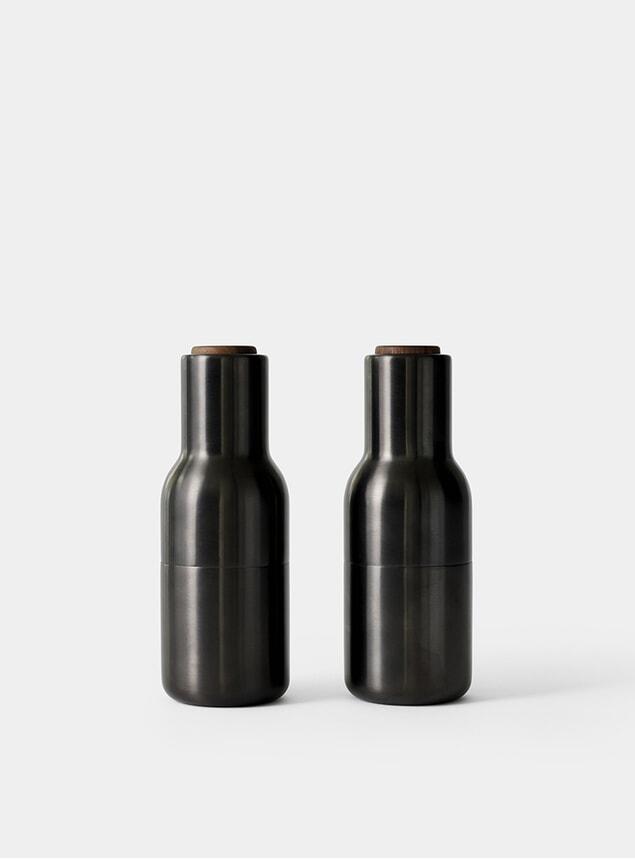 Bronzed Brass Bottle Grinder
