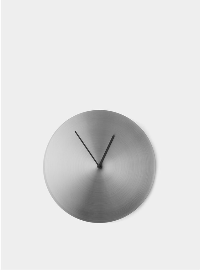 Steel Wall Clock