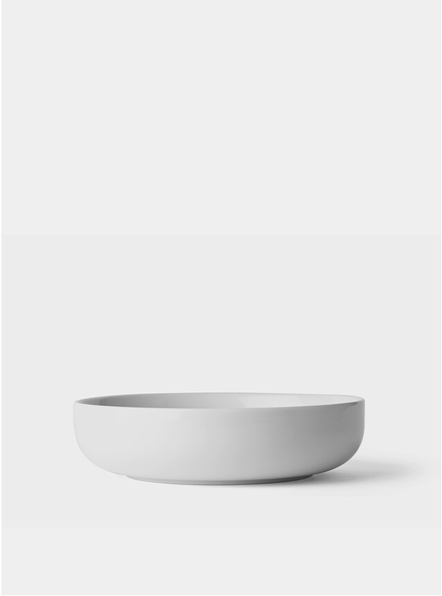 White New Norm Low Bowl Set
