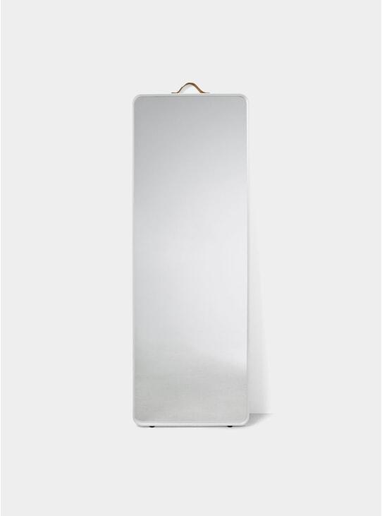 White Norm Floor Mirror