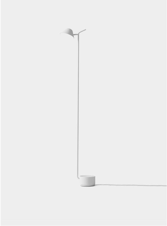 White Peek Floor Lamp
