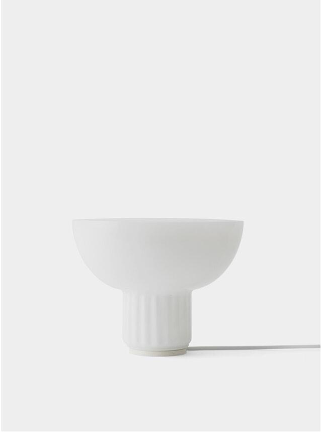 White Standard Table Lamp