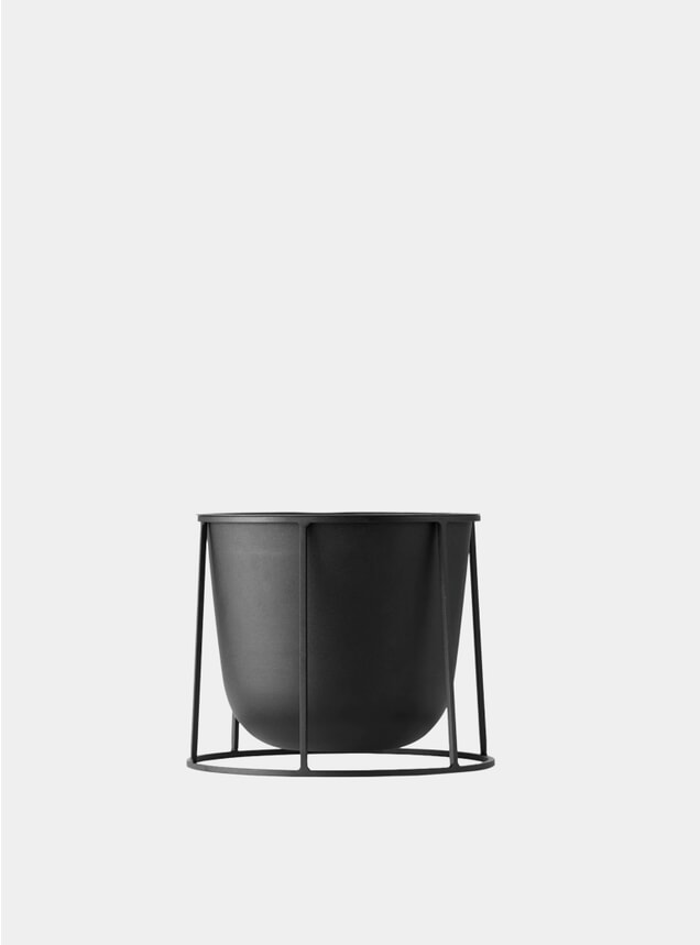 Black Small Wire Stand & Plant Pot