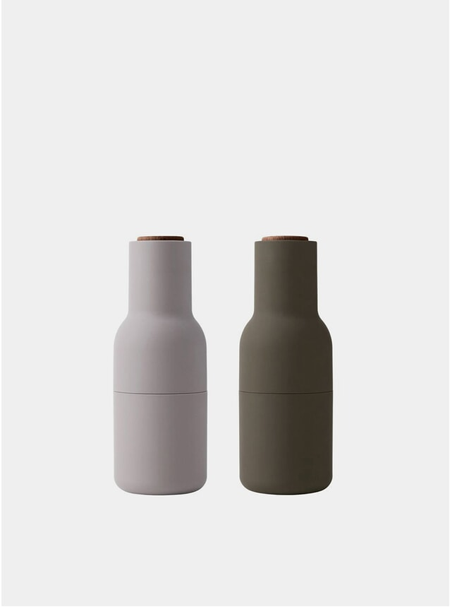 Hunting Green / Beige Bottle Grinder 2 Pack