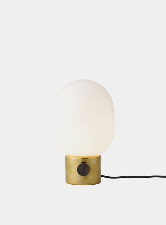 Mirror Polished Brass JWDA Table Lamp