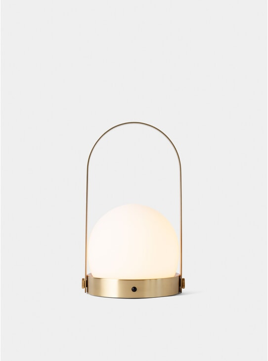 Brushed Brass Carrie LED Lamp