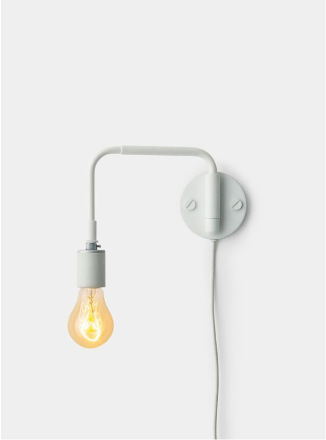 White Staple Lamp Tribeca