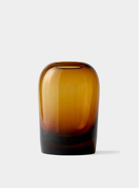 X-Large Amber Troll Vase