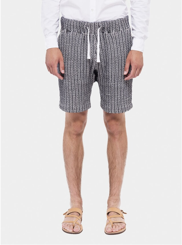 Jacquard Fleece Shorts