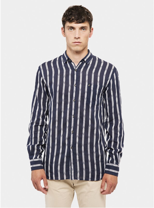 Navy / White Kingston Shirt