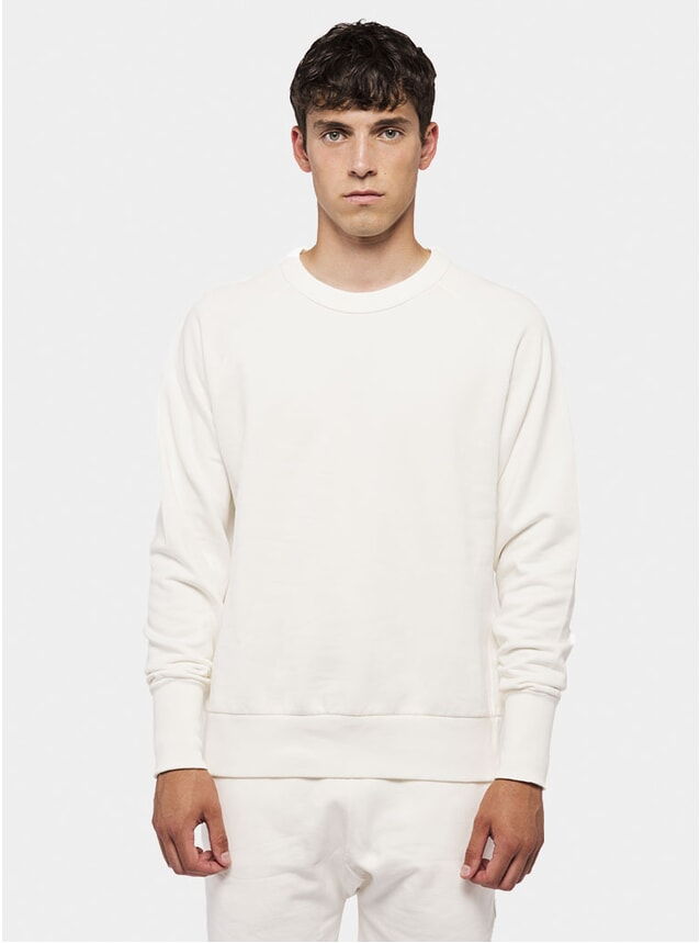 White Raglan Jumper