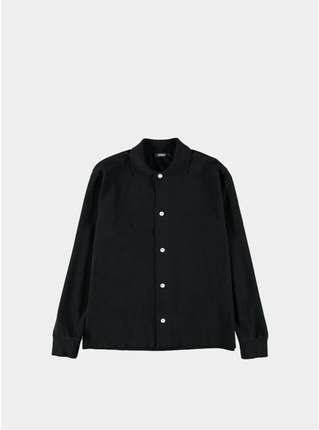 Black Pique Shirt