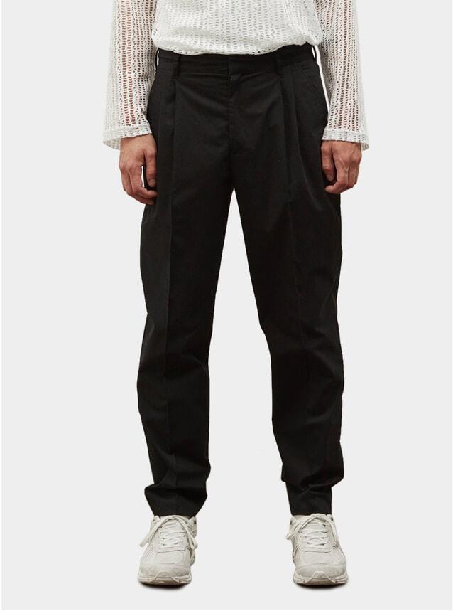 Black Saevio Trousers
