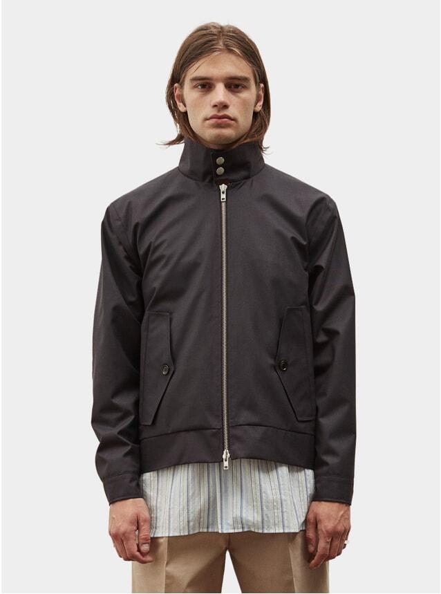 Dark Navy Harrington Jacket