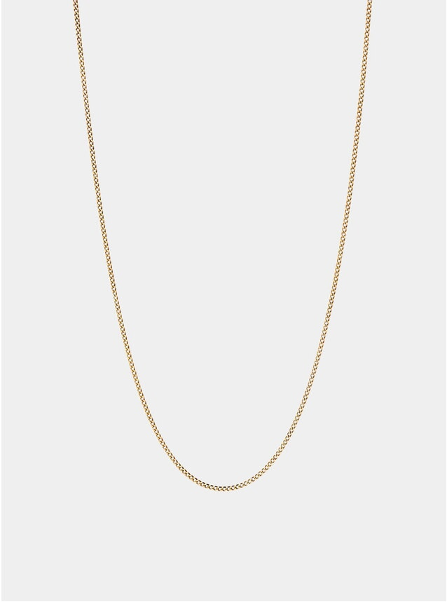 14k Gold 1.3mm Chain Necklace
