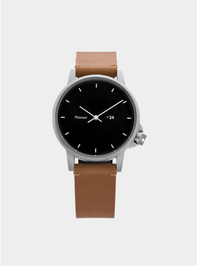 Black / Tan Leather M24 Watch